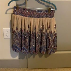 Cute skirt with elastic band
